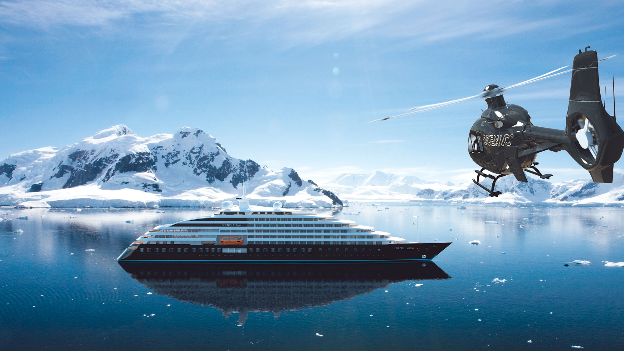 Luxury expedition cruises heat up for cold places, cool gadgets