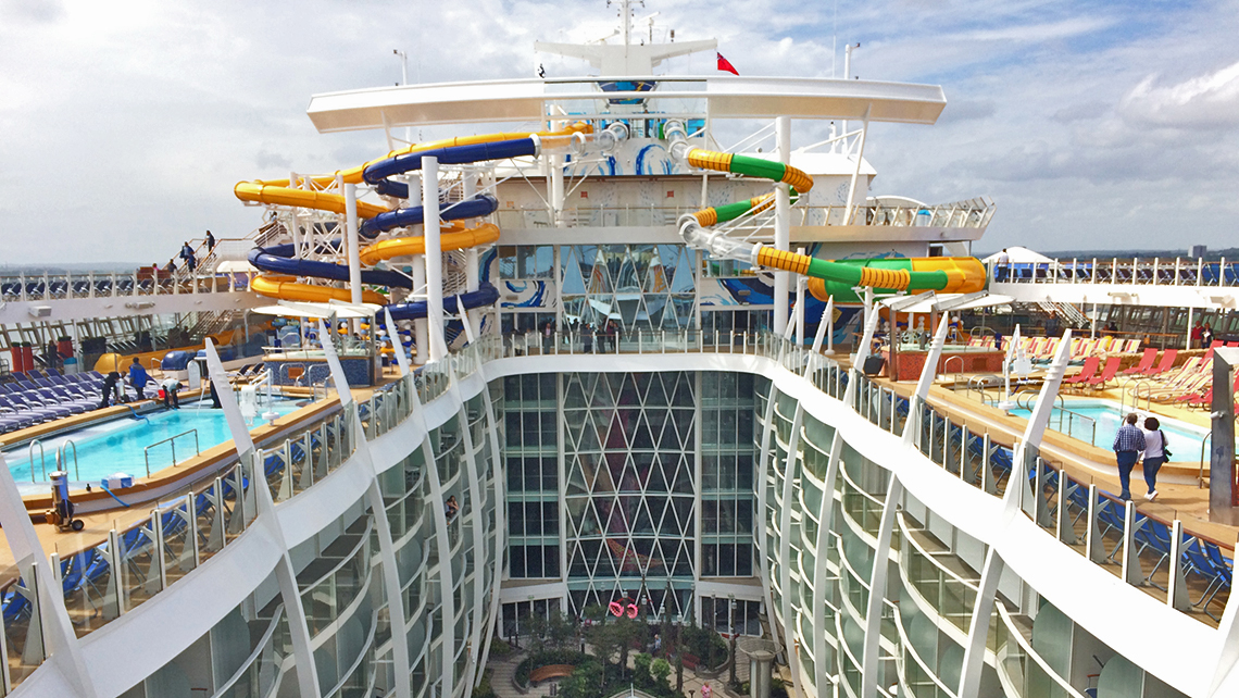 Royal Caribbean taking its best from two