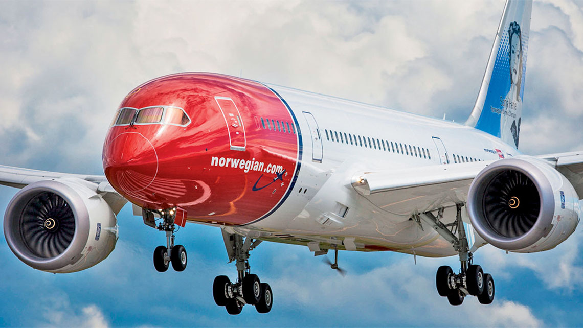 norwegian air plans to accelerate expansion after dot consent
