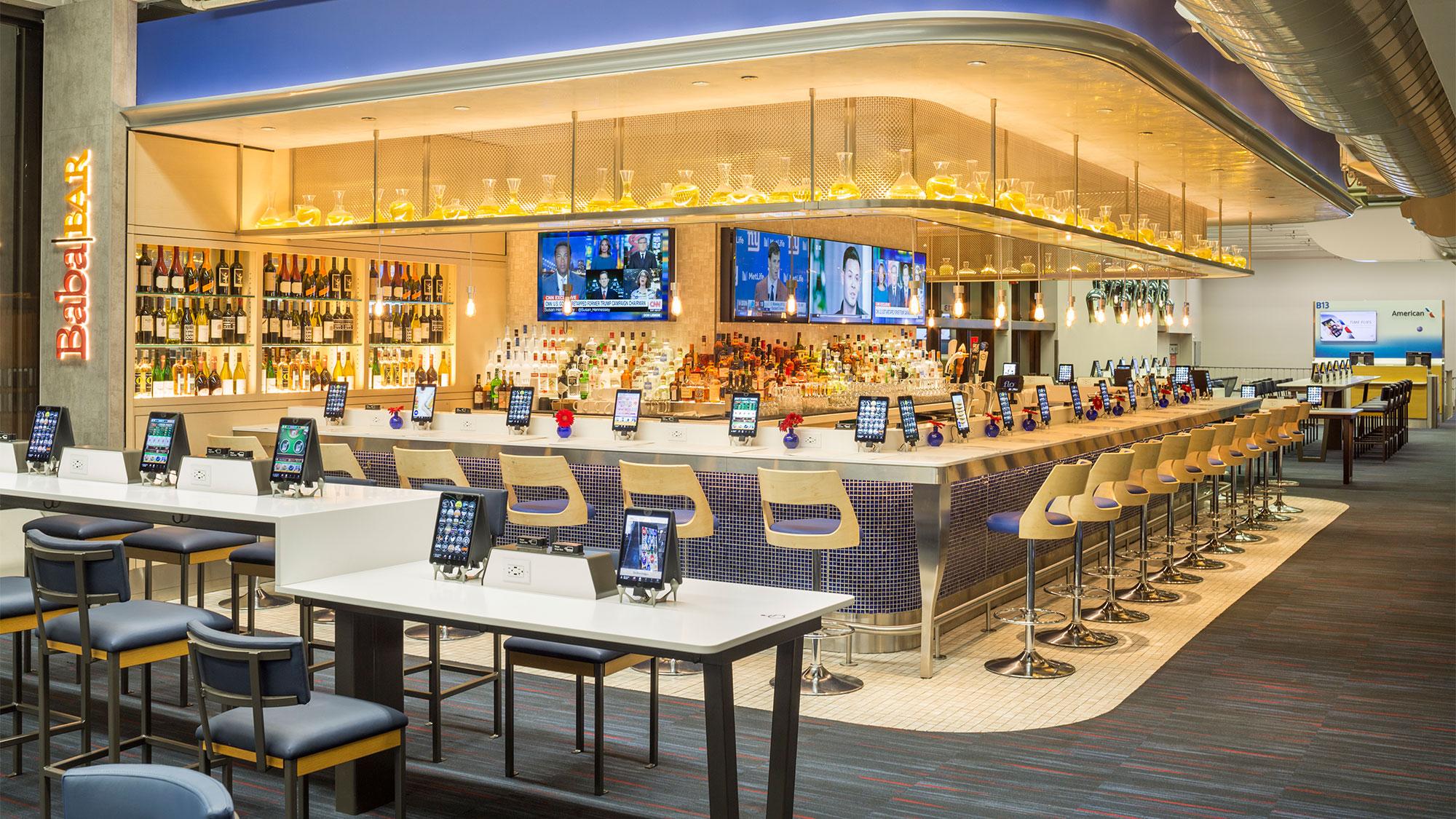 Philadelphia Airport S Terminal B Gets Otg Ipad Restaurants Travel Weekly