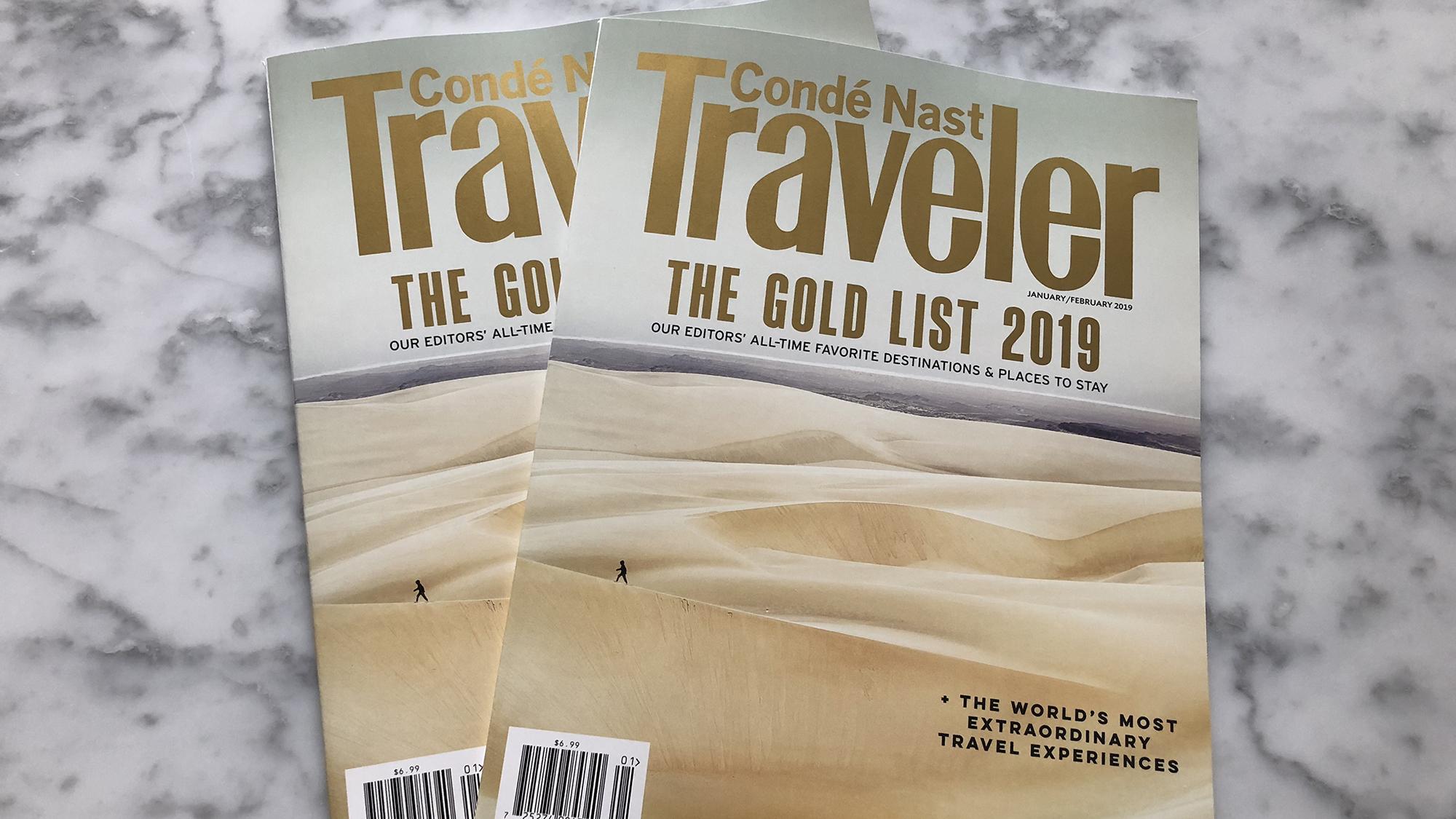 Conde Nast Traveler publishes first U.S.-U.K. edition