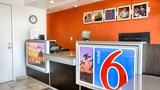Motel 6 Fresno Blackstone North Lobby