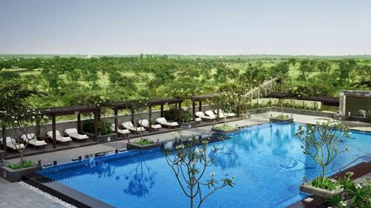 The Leela Ambience Gurgaon Images Videos Deluxe Gurgaon India Hotels Travel Weekly