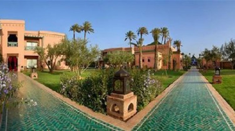 les jardins d 39 ines images videos first class marrakech morocco hotels travel weekly. Black Bedroom Furniture Sets. Home Design Ideas