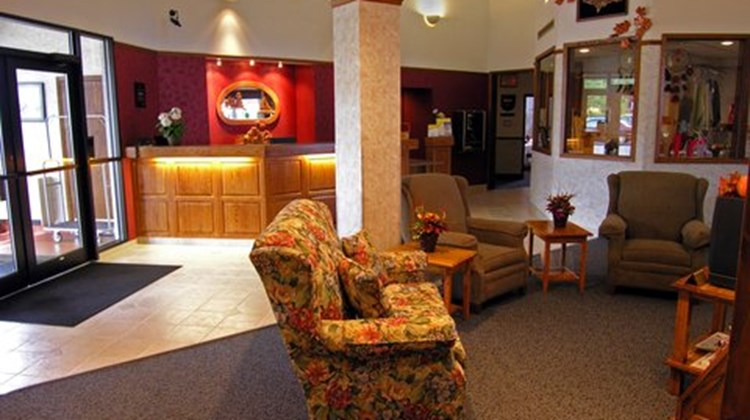 Baraga Lakeside Inn Lobby