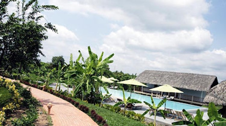 Mekong Riverside Resort & Spa Pool