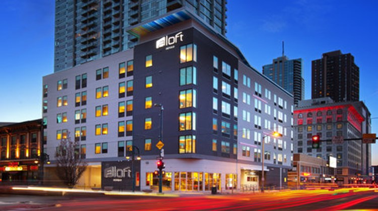aloft Denver Downtown Exterior