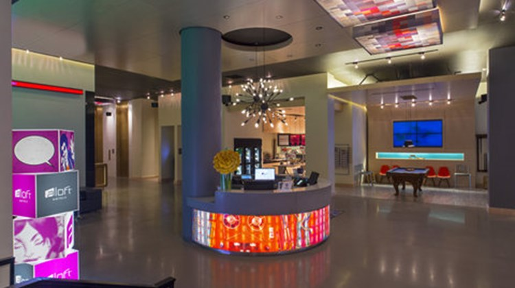 aloft New Orleans Downtown Lobby