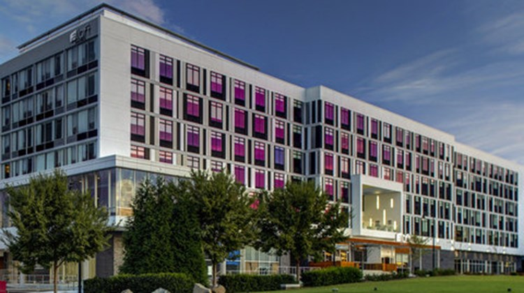 Aloft Durham Downtown Exterior