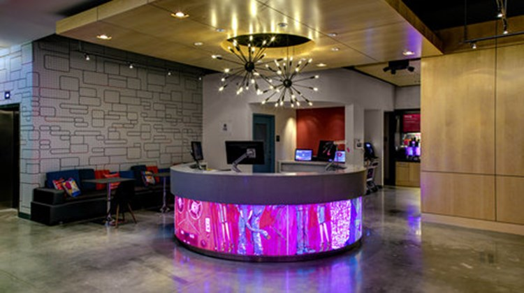 Aloft Durham Downtown Lobby