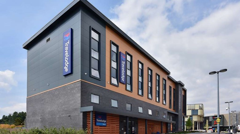 "Travelodge Telford Exterior. Images powered by <a href=""http://web.iceportal.com""  target=""_blank"">Ice Portal</a>."