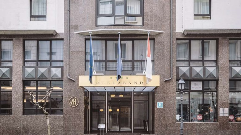 "Hotel Abando Exterior. Images powered by <a href=""http://web.iceportal.com""  target=""_blank"">Ice Portal</a>."