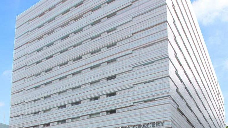 "Hotel Gracery Ginza Exterior. Images powered by <a href=""http://web.iceportal.com""  target=""_blank"">Ice Portal</a>."