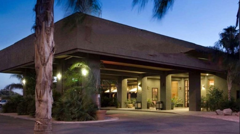 "Ramada Tucson Exterior. Images powered by <a href=""http://web.iceportal.com""  target=""_blank"">Ice Portal</a>."
