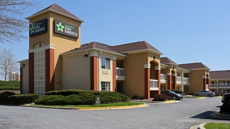 "Extended Stay America Baltimore BWl Dr Exterior. Images powered by <a href=""http://web.iceportal.com""  target=""_blank"">Ice Portal</a>."