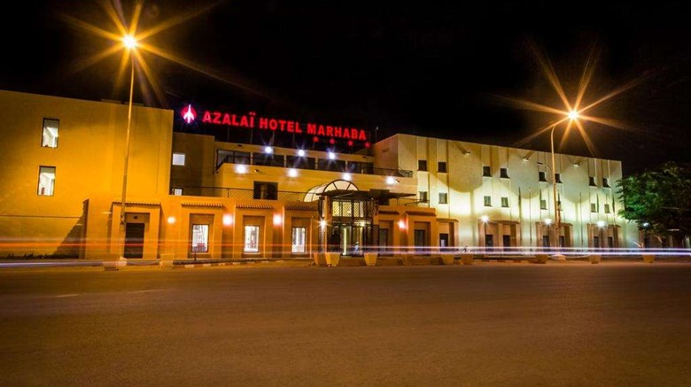"Azalai Hotel Marhaba Exterior. Images powered by <a href=""http://web.iceportal.com""  target=""_blank"">Ice Portal</a>."