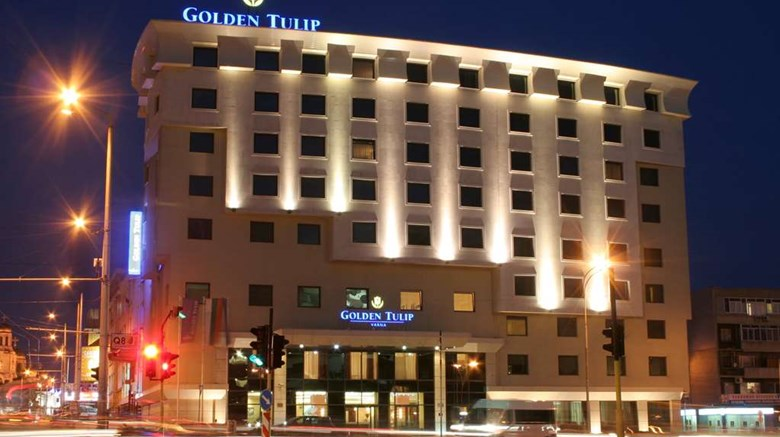 "Golden Tulip Varna Exterior. Images powered by <a href=""http://web.iceportal.com""  target=""_blank"">Ice Portal</a>."