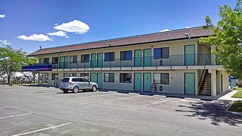 "Motel 6 Ely Exterior. Images powered by <a href=""http://web.iceportal.com""  target=""_blank"">Ice Portal</a>."