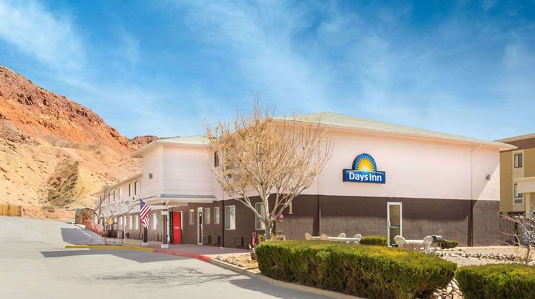 "Days Inn Moab Exterior. Images powered by <a href=""http://web.iceportal.com""  target=""_blank"">Ice Portal</a>."