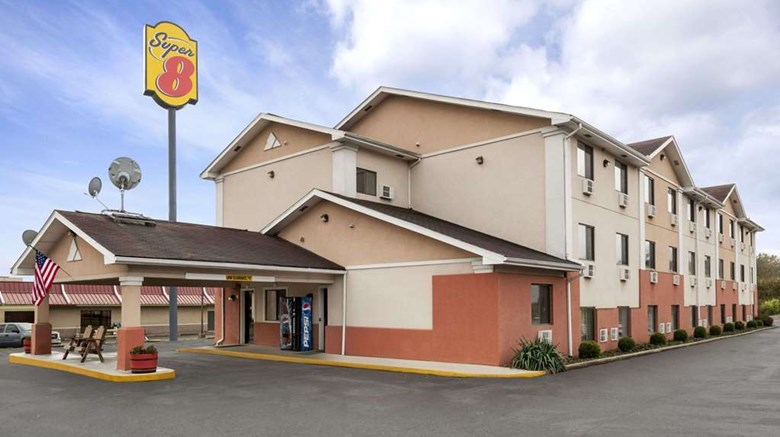 "Super 8 Brookville Exterior. Images powered by <a href=""http://web.iceportal.com""  target=""_blank"">Ice Portal</a>."