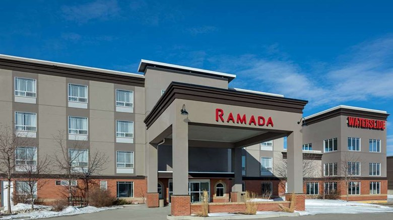 "Ramada Cochrane Exterior. Images powered by <a href=""http://web.iceportal.com""  target=""_blank"">Ice Portal</a>."