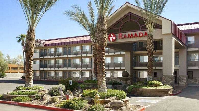 "Ramada Tempe at Arizona Mills Mall Exterior. Images powered by <a href=""http://web.iceportal.com""  target=""_blank"">Ice Portal</a>."