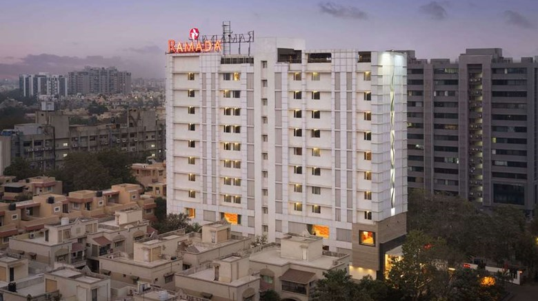 "Ramada Ahmedabad Exterior. Images powered by <a href=""http://web.iceportal.com""  target=""_blank"">Ice Portal</a>."