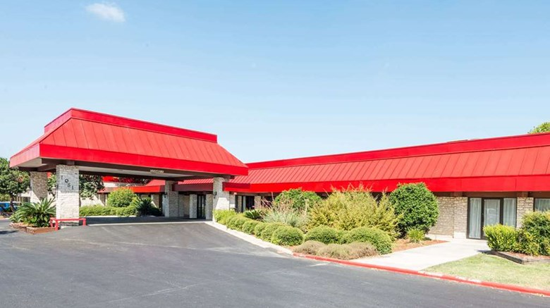 "Ramada New Braunfels Exterior. Images powered by <a href=""http://web.iceportal.com""  target=""_blank"">Ice Portal</a>."