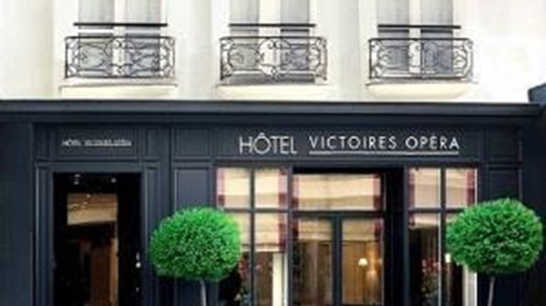 "Hotel Victoires Opera Exterior. Images powered by <a href=""http://web.iceportal.com""  target=""_blank"">Ice Portal</a>."