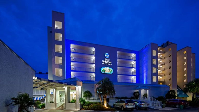 "Best Western on the Beach Exterior. Images powered by <a href=""http://web.iceportal.com""  target=""_blank"">Ice Portal</a>."