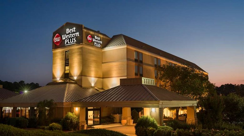 "Best Western Plus Goldsboro Exterior. Images powered by <a href=""http://web.iceportal.com""  target=""_blank"">Ice Portal</a>."