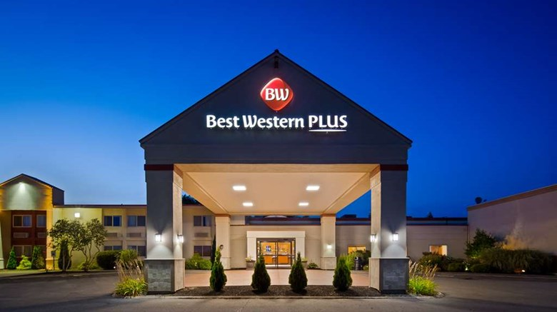 "Best Western Plus Augusta Civic Center Exterior. Images powered by <a href=""http://web.iceportal.com""  target=""_blank"">Ice Portal</a>."