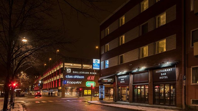 "Best Western Hotel City Gavle Exterior. Images powered by <a href=""http://web.iceportal.com""  target=""_blank"">Ice Portal</a>."