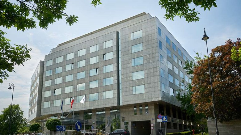"Regent Warsaw Hotel Exterior. Images powered by <a href=""http://web.iceportal.com""  target=""_blank"">Ice Portal</a>."