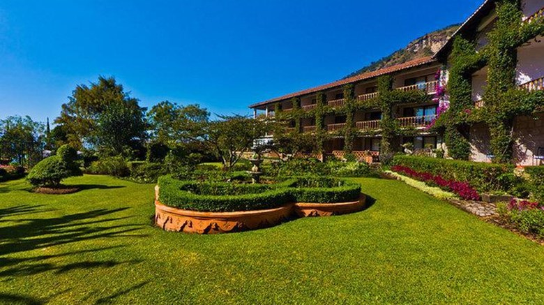 "Hotel Atitlan Exterior. Images powered by <a href=""http://web.iceportal.com""  target=""_blank"">Ice Portal</a>."