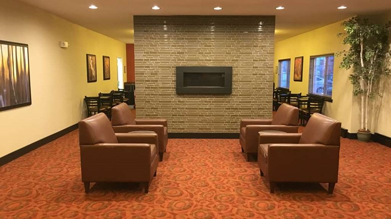 "Aspen Hotel Soldotna Lobby. Images powered by <a href=""http://web.iceportal.com""  target=""_blank"">Ice Portal</a>."