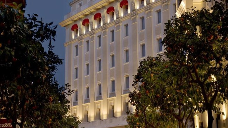 "Gran Melia Colon Exterior. Images powered by <a href=""http://web.iceportal.com""  target=""_blank"">Ice Portal</a>."