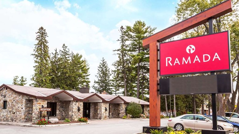 "Ramada Ottawa on the Rideau Exterior. Images powered by <a href=""http://web.iceportal.com""  target=""_blank"">Ice Portal</a>."