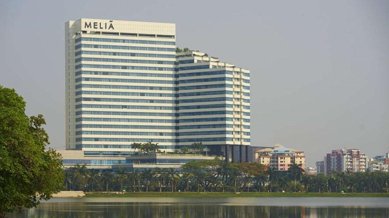 "Melia Yangon Exterior. Images powered by <a href=""http://web.iceportal.com""  target=""_blank"">Ice Portal</a>."