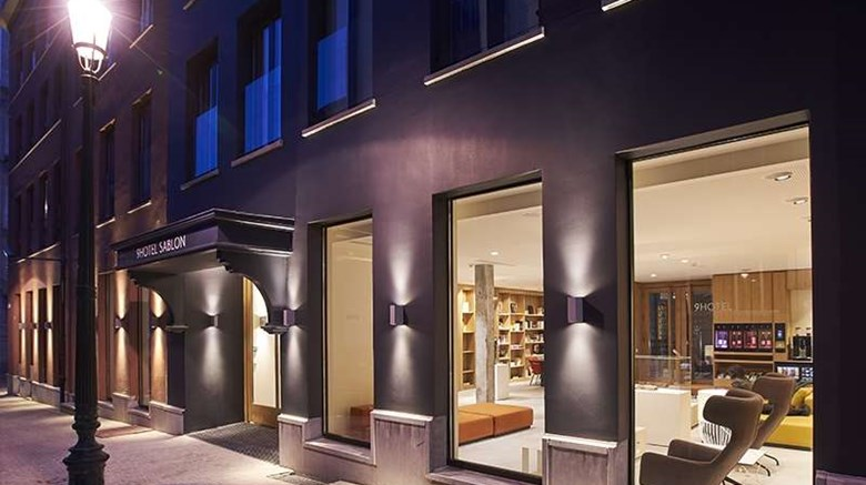 "9Hotel Sablon Exterior. Images powered by <a href=""http://web.iceportal.com""  target=""_blank"">Ice Portal</a>."