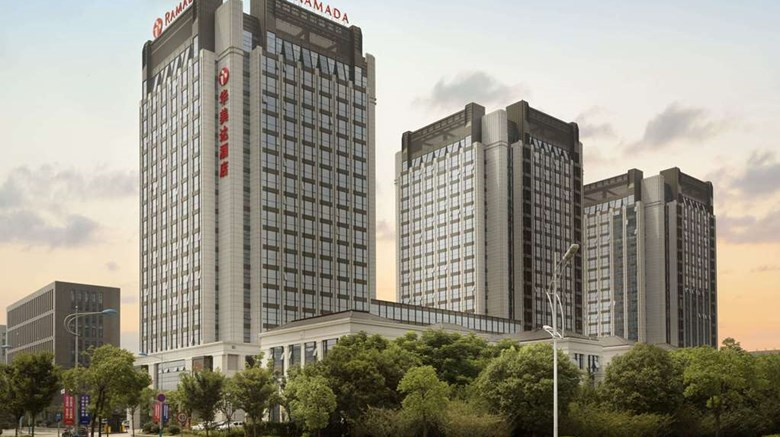 "Ramada Jiaxing Exterior. Images powered by <a href=""http://web.iceportal.com""  target=""_blank"">Ice Portal</a>."