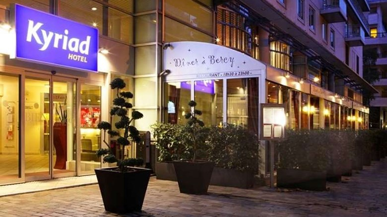 "Kyriad Hotel Paris Bercy Village Exterior. Images powered by <a href=""http://web.iceportal.com""  target=""_blank"">Ice Portal</a>."