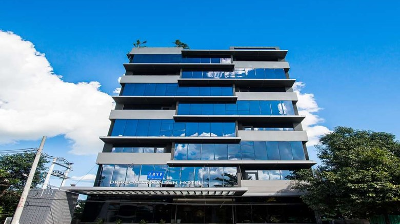 "TRYP by Wyndham Yangon Exterior. Images powered by <a href=""http://web.iceportal.com""  target=""_blank"">Ice Portal</a>."