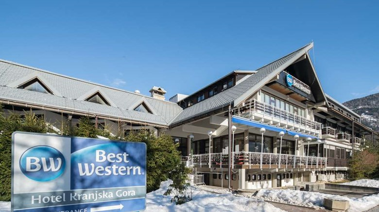 "Best Western Hotel Kranjska Gora Exterior. Images powered by <a href=""http://web.iceportal.com""  target=""_blank"">Ice Portal</a>."
