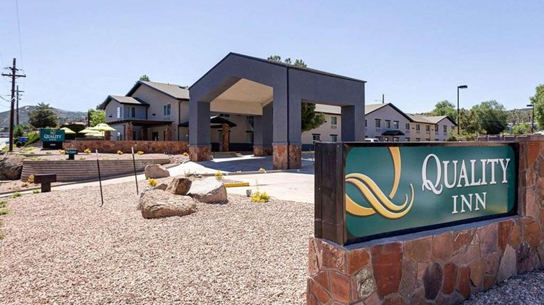 "Quality Inn Prescott Exterior. Images powered by <a href=""http://web.iceportal.com""  target=""_blank"">Ice Portal</a>."
