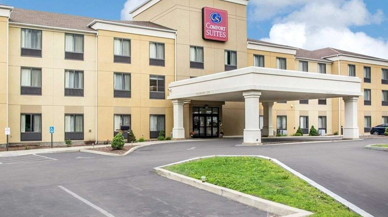 "Comfort Suites Vestal Exterior. Images powered by <a href=""http://web.iceportal.com""  target=""_blank"">Ice Portal</a>."