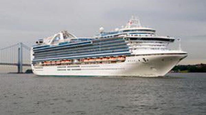 Crown Princess Exterior
