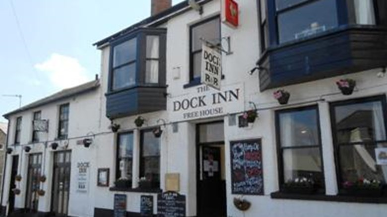 The Dock Inn Exterior
