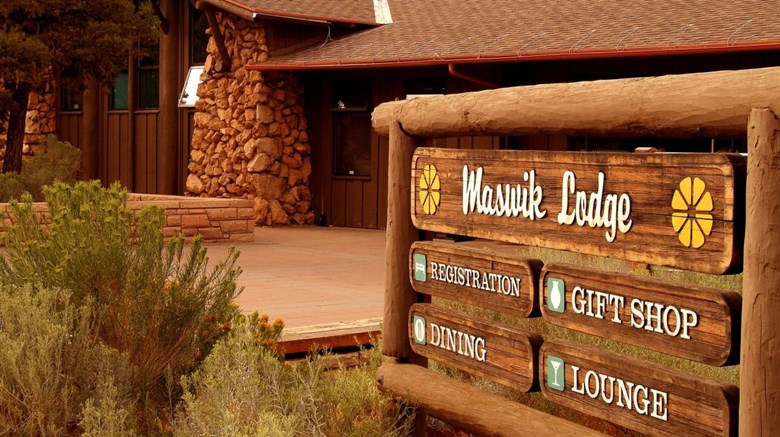 Maswik Lodge Exterior