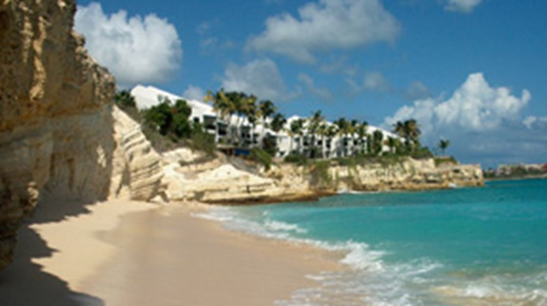 Cupecoy Beach Club First Cl Bay St Maarten Martin